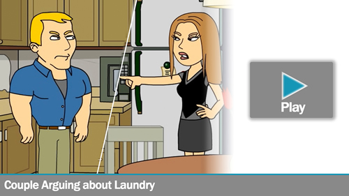 The Laundry Soap Couple Animation
