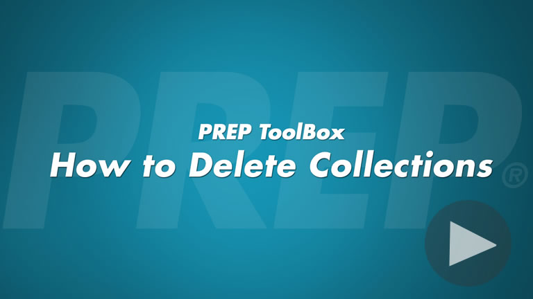 How to Delete Collections