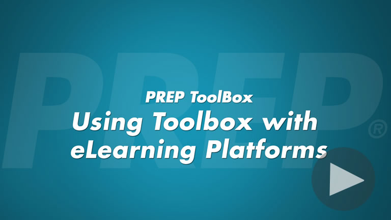 Using Toolbox with eLearning Platforms